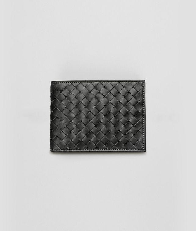 BOTTEGA VENETA Portafoglio Nero in VN Intrecciato Portafoglio bi-fold U fp