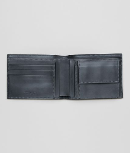 BOTTEGA VENETA - Light Tourmaline Intrecciato VN Wallet
