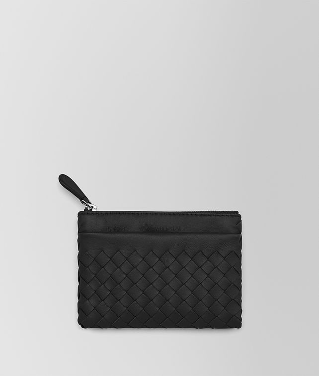 BOTTEGA VENETA KEY CASE IN NERO INTRECCIATO NAPPA Keyring or Bracelets E fp