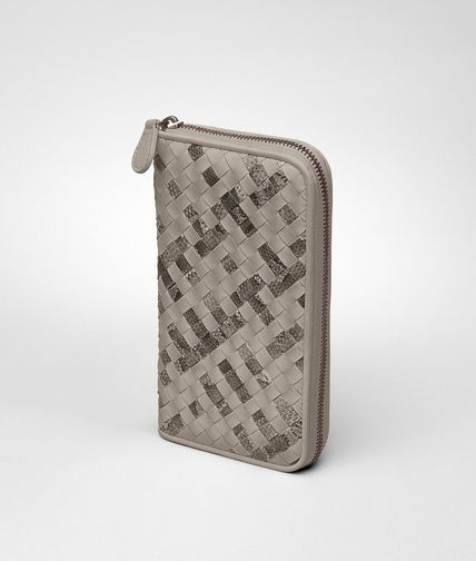 BOTTEGA VENETA - Intrecciato Ayers Nappa Zip Around Wallet