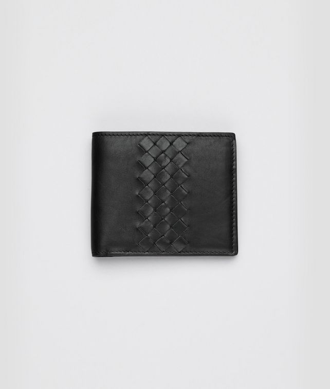 Nero Light Calf Intrecciato Wallet