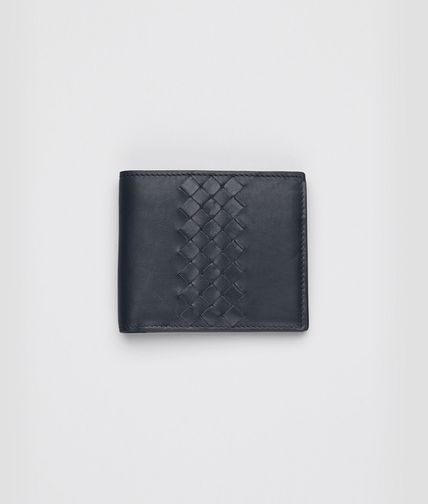BOTTEGA VENETA - Tourmaline Intrecciato Light Calf Wallet