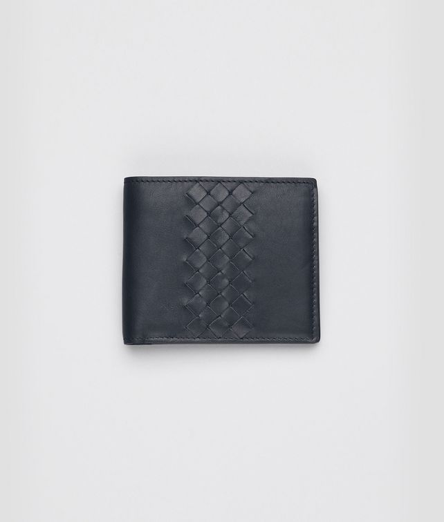 Tourmaline Intrecciato Light Calf Wallet