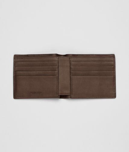 BOTTEGA VENETA - Edoardo Intrecciato Light Calf Wallet
