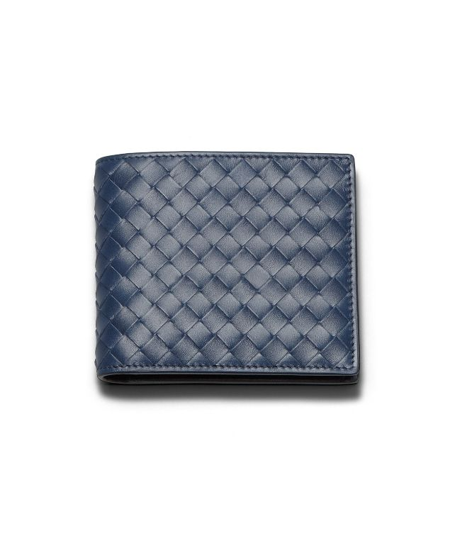 Celeste Intrecciato VN Wallet