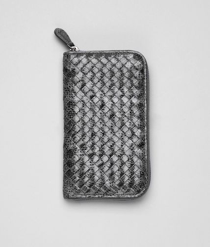 BOTTEGA VENETA - Intrecciato Ayers Zip Around Wallet