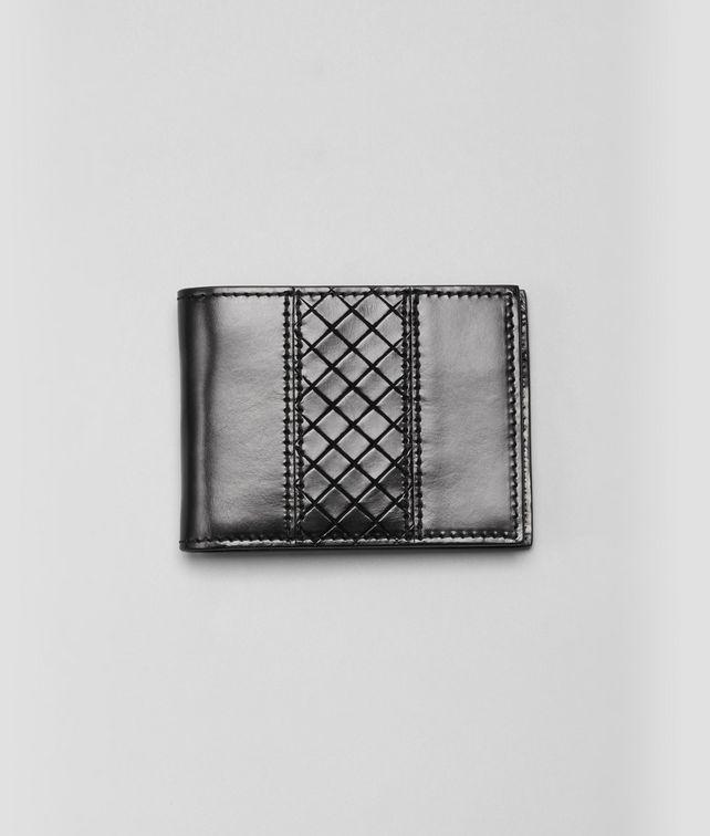 Nero Intreccio Scolpito Wallet
