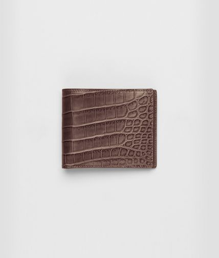 BOTTEGA VENETA - Soft Crocodile Wallet