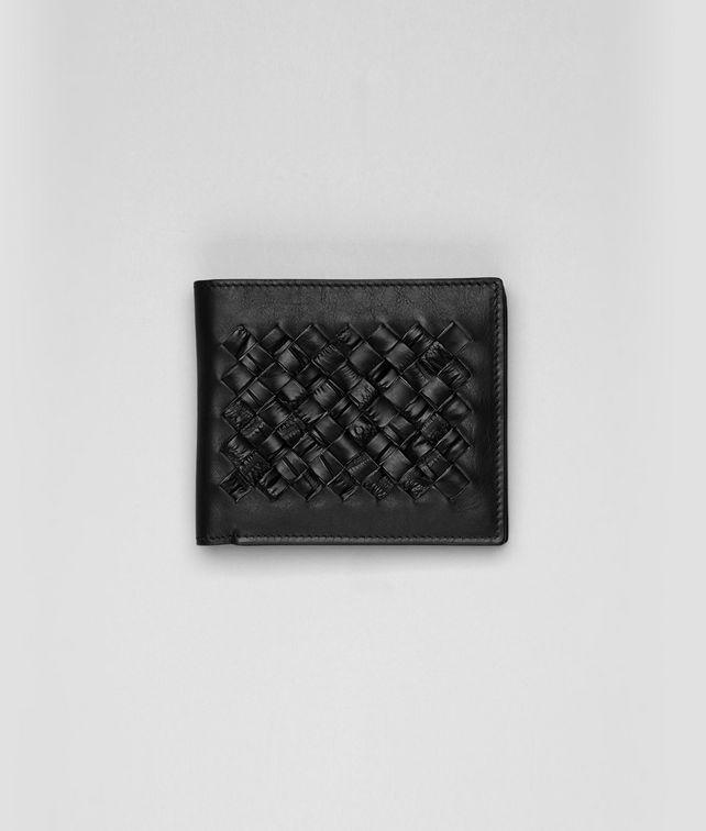 Portemonnaie aus weichem Krokodilleder Intrecciato
