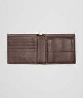 Edoardo Soft Crocodile Fume Wallet