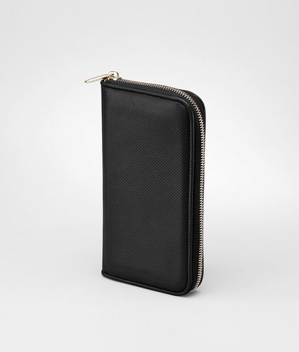 BOTTEGA VENETA - Micropolo Zip Around Wallet