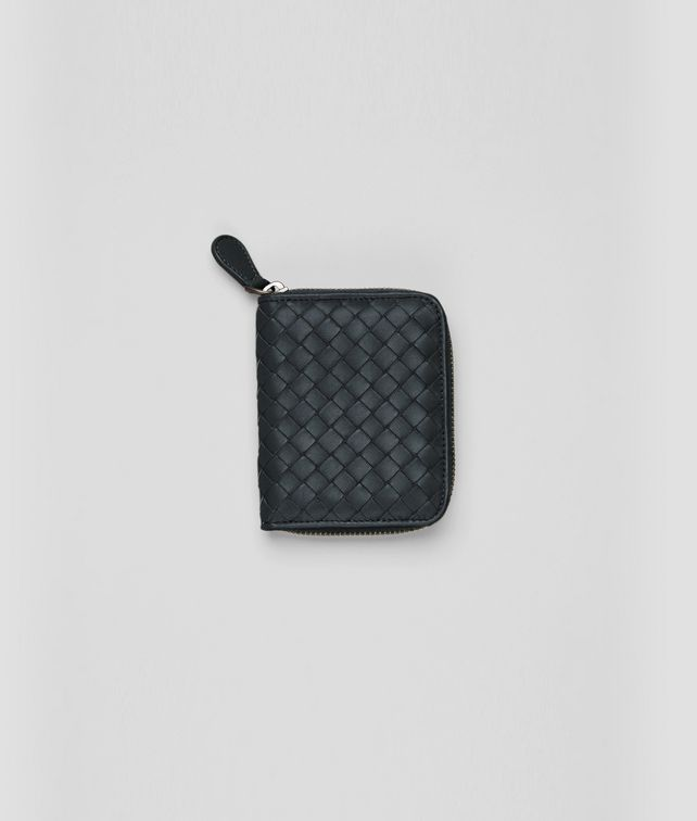 BOTTEGA VENETA Tourmaline Intrecciato Nappa Coin Purse Mini Wallet or Coin Purse D fp