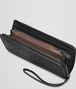 BOTTEGA VENETA Nero Intrecciato Nappa Continental Wallet Zip Around Wallet D ap