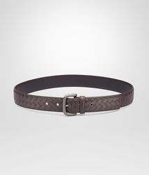 BOTTEGA VENETA - Accessories, Ebano Intrecciato VN Belt