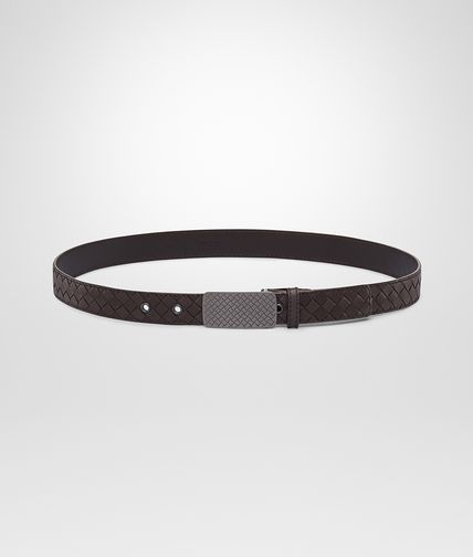 BOTTEGA VENETA - Intrecciato Waxed Leather Belt