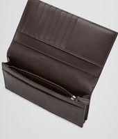 Ebano Intrecciato VN Continental Wallet