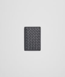 BOTTEGA VENETA - Card Cases and Coin Purses, Ardoise Intrecciato VN Card Case