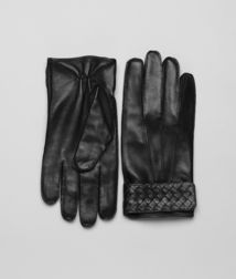 BOTTEGA VENETA - Accessories, Nero Soft Nappa Gloves