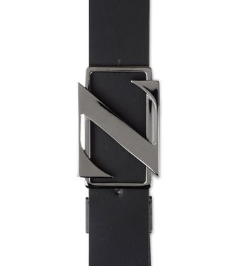 ZZEGNA: Belt Black - Dark brown - 46307028GA
