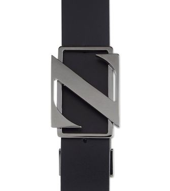 ZZEGNA: Belt Black - 46307028XH