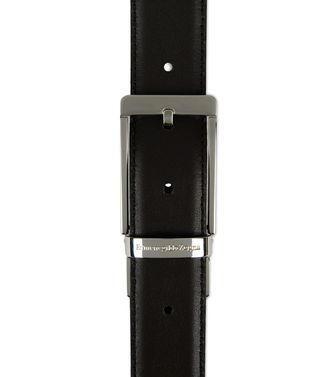 ERMENEGILDO ZEGNA: Belt Grey - Slate blue - 46307678OX