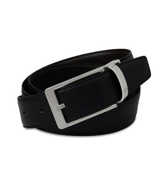 ERMENEGILDO ZEGNA: Belt Black - 46307678OX