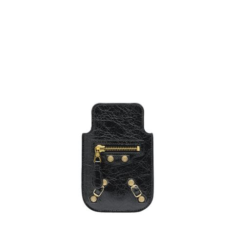 Balenciaga Giant Gold Smart Phone Pouch
