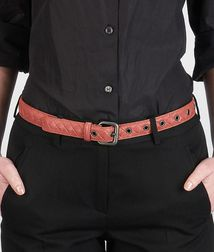 BOTTEGA VENETA - Accessories, Boucher Intrecciato Nappa Belt