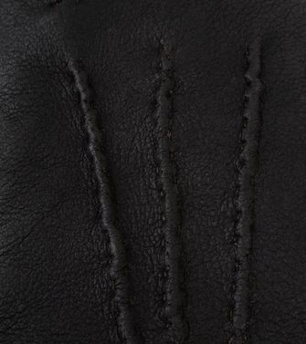 ERMENEGILDO ZEGNA: Gloves Black - 46308137UQ