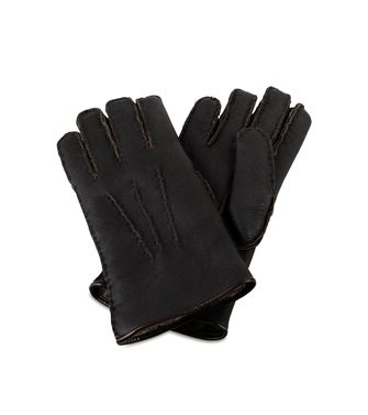 ERMENEGILDO ZEGNA: Gloves Dark brown - 46308137UQ