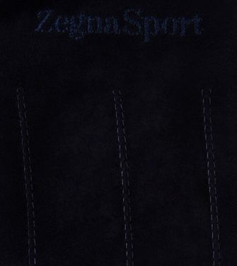 ZEGNA SPORT: Gloves Steel grey - 46308138KO