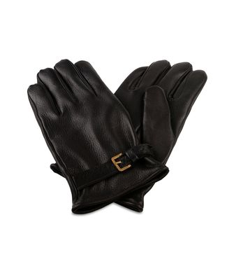 ERMENEGILDO ZEGNA: Gloves Blue - 46308139AN