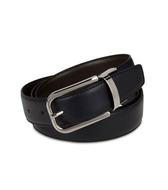 ERMENEGILDO ZEGNA: Belt Black - 46308164ie