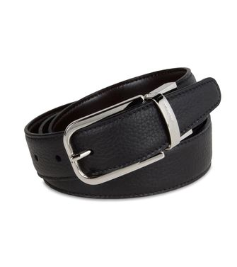 ERMENEGILDO ZEGNA: Belt Dark brown - 46308165OO