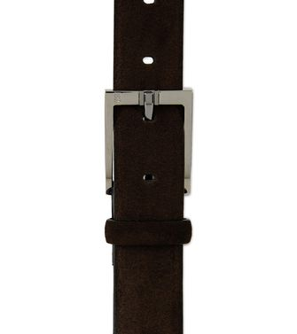 ERMENEGILDO ZEGNA: Belt Dark brown - 46308169SR