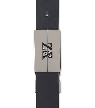 ZEGNA SPORT: Belt Black - Dark brown - 46308170WP