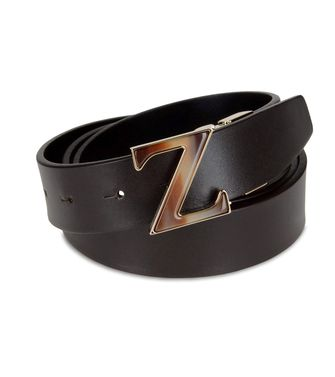 ZZEGNA: Belt Dark brown - 46308171KO