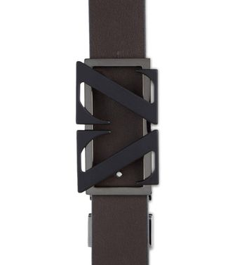 ZEGNA SPORT: Belt Dark brown - 46308175OW
