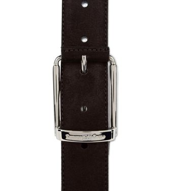 ERMENEGILDO ZEGNA: Belt Dark brown - 46308178MT