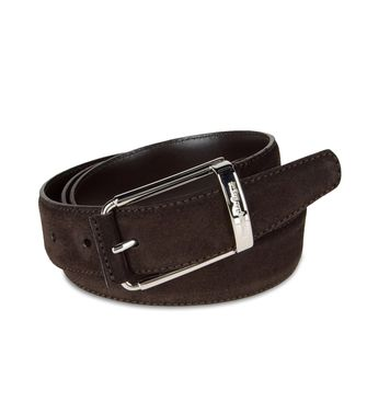 ERMENEGILDO ZEGNA: Belt Grey - 46308178MT