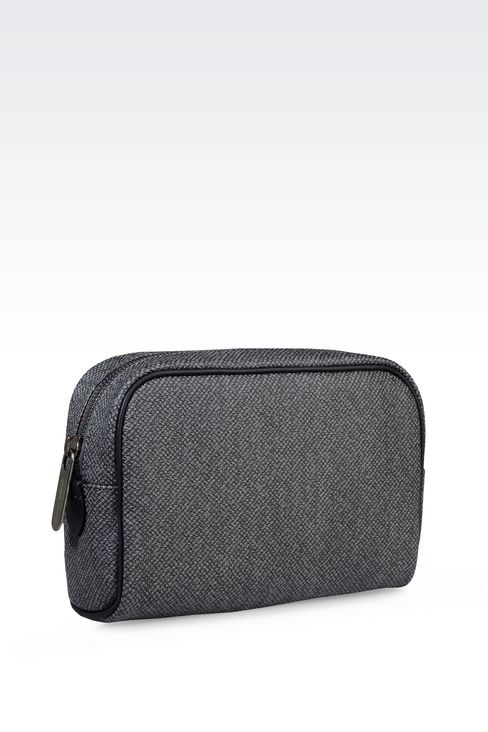 SMALL WASH BAG IN PVC: Beauty cases Men by Armani - 2