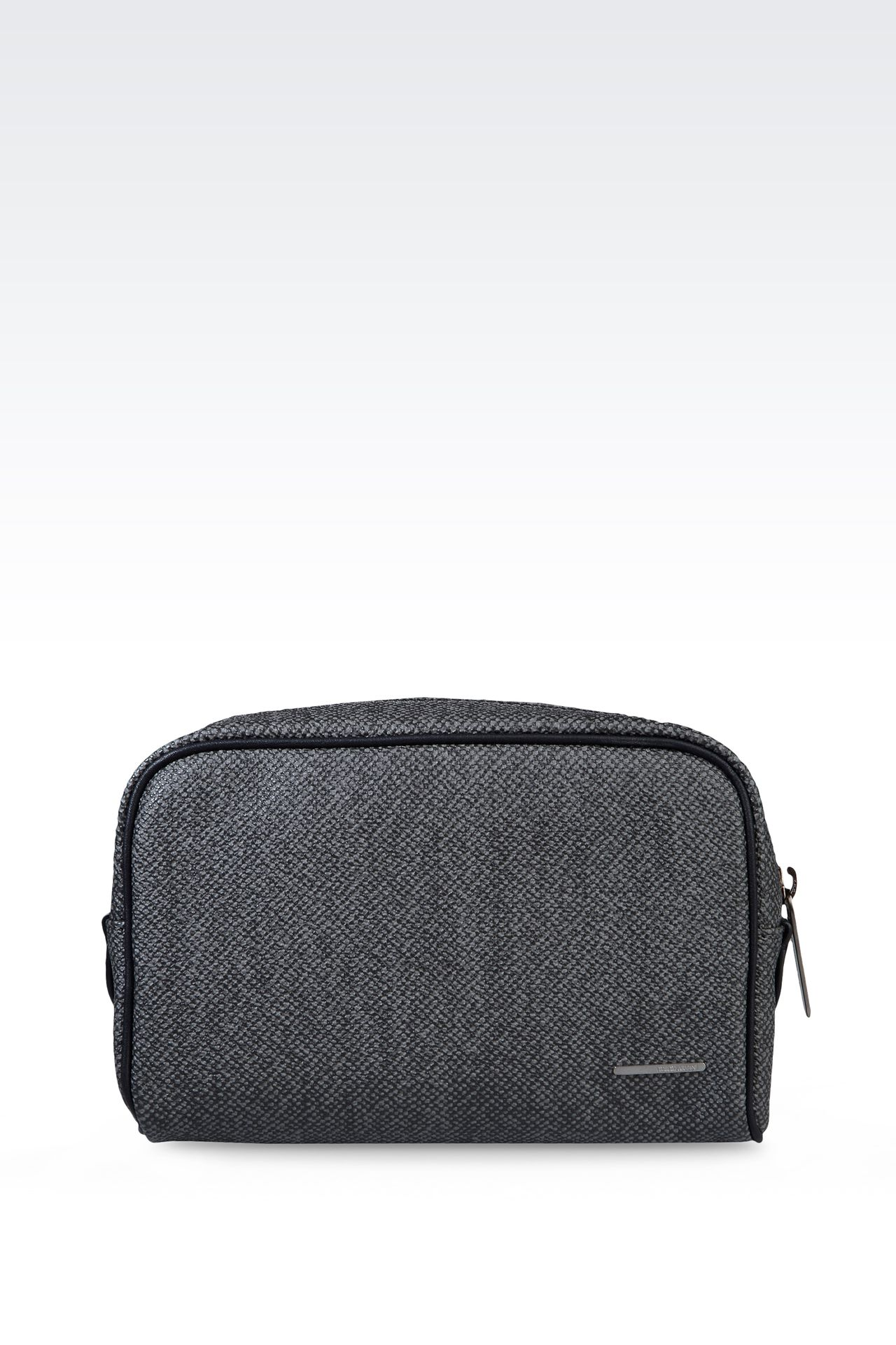 SMALL WASH BAG IN PVC: Beauty cases Men by Armani - 0