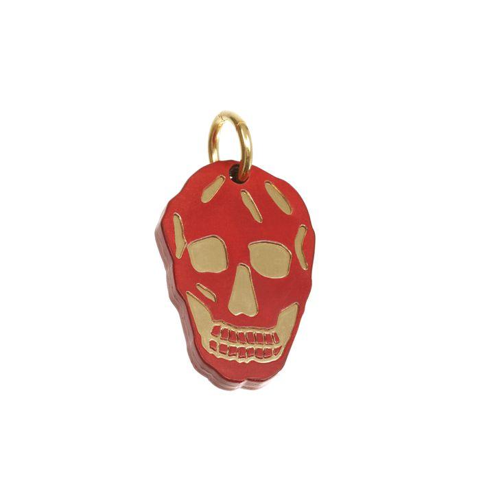 Alexander McQueen, Leather Skull Keyring