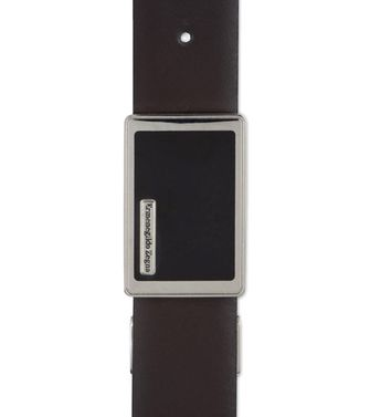ERMENEGILDO ZEGNA: Belt Black - 46308275RV