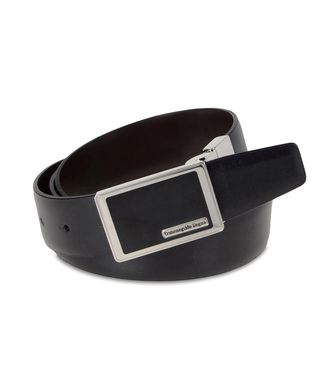ERMENEGILDO ZEGNA: Belt Dark brown - 46308275RV