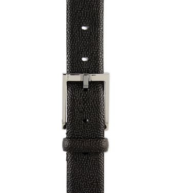 ERMENEGILDO ZEGNA: Belt Black - Dark brown - 46308276RO