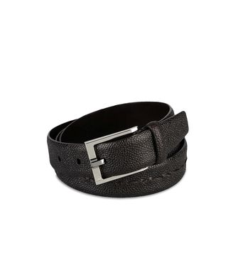ERMENEGILDO ZEGNA: Belt Steel grey - 46308276RO