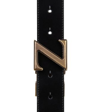 ZZEGNA: Belt Black - 46308279TS