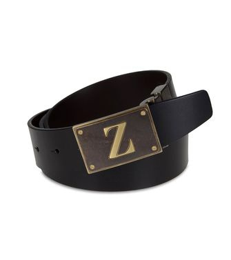 ZZEGNA: Belt Black - 46308281LV