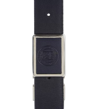 ERMENEGILDO ZEGNA: Belt Black - Dark brown - 46308282UQ